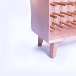 Wine rack detail