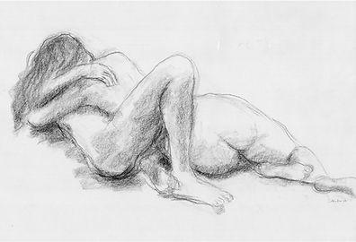 dessin au crayon d'un couple