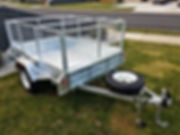 Heavy Duty Galvanised Trailer