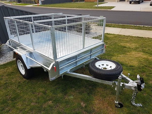 Galvanised Box Trailers Tasmania
