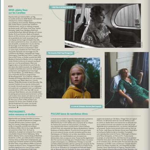 Le Film Francais - Cannes Film Festival - A BIRD FLEW IN (prod. Ben Charles Edwards)