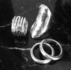 ancientgreekjewellery ancient greek jewellery agj naiades rings lavirinthos ring and kallisto ring