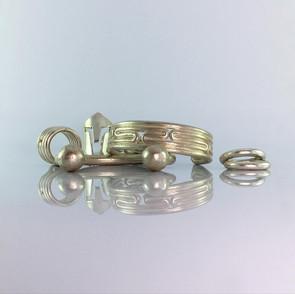 ancientgreekjewellery ancient greek jewellery agj lavirinthos ring, sparta ring, lavirinthos bangle, sphaera 6 bangle, naiades rings