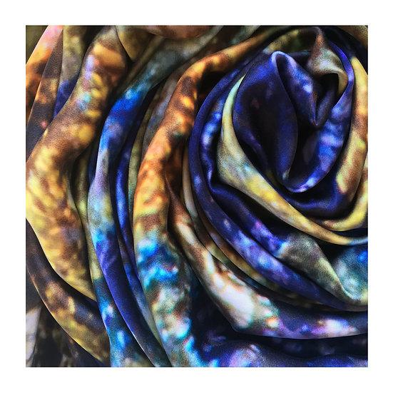 tatourammou |  Spirituality silk shawl details