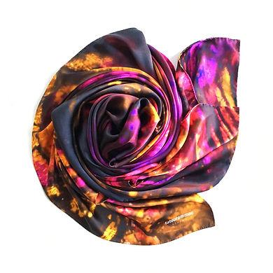 tatourammou, silk, shawl, transition, tatourammou silk shawl