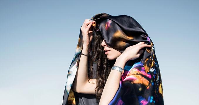 tatourammou, silk, shawl, frequency, tatourammou silk shawl
