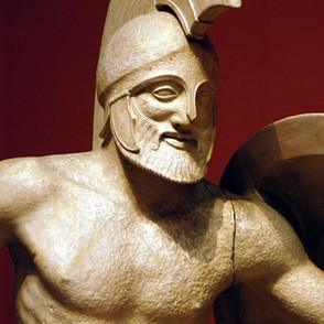 ancientgreekjewellery ancient greek jewellery agj Warrior of the East pediment of the Temple of Athena Aphaia in Aegina
