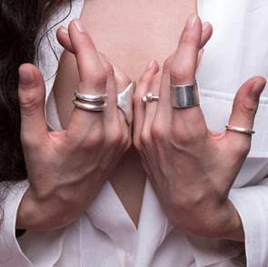 ancientgreekjewellery ancient greek jewellery agj aurae ring , kallisto ring, sphaera torque ring, ava ring, heliades ring