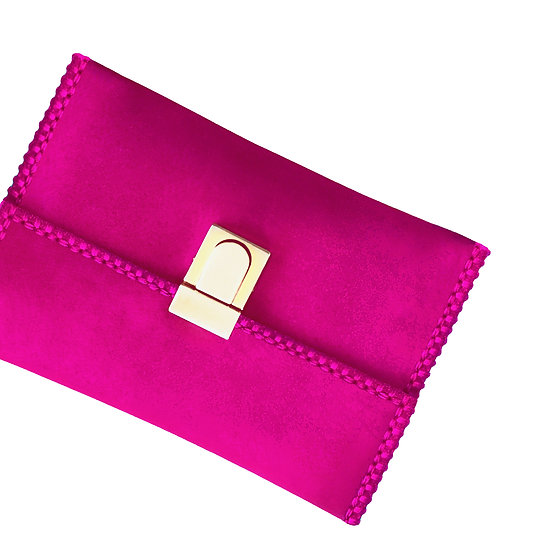 tatourammou |  Pink yarrow Clutch bag