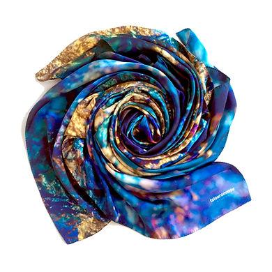 tatourammou, silk, shawl, intuition, tatourammou silk shawl