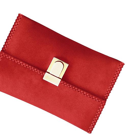 tatourammou    Flame scarlet Clutch bag