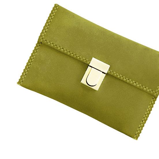tatourammou  |  Golden lime Clutch bag