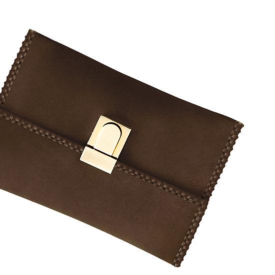 tatourammou  |  Choco brown Clutch bag