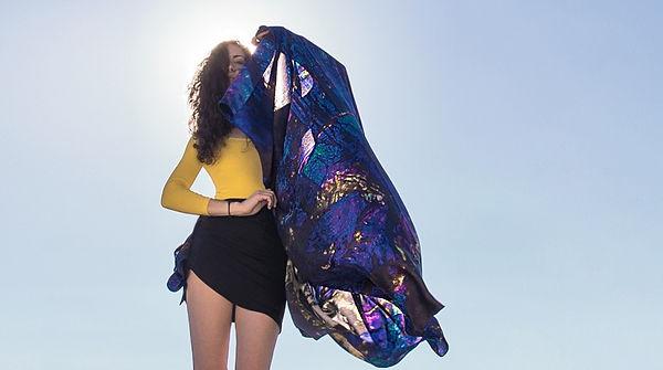 tatourammou, silk, shawl, spirituality, tatourammou silk shawl