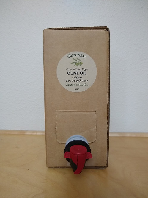 Extra Virgin Olive Oil 3 Liter Bag-in-a-Box