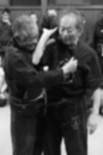Noguchi Sensei and Hatsumi Soke