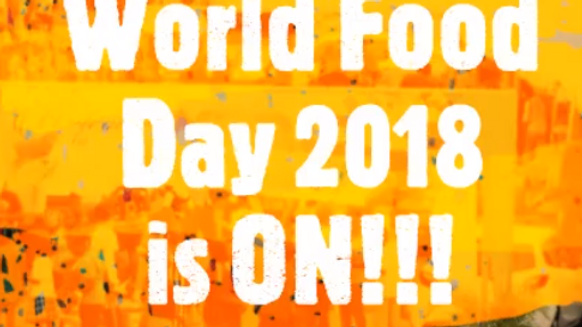 World Food Day Exhibition at Parade Grounds, Bacolet, Tobago
