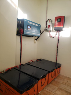 5kW Inverter with Gel Batteries