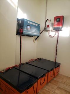 5kW Inverter with Gel Batteries