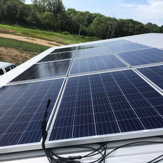 Solar Panels with Cable