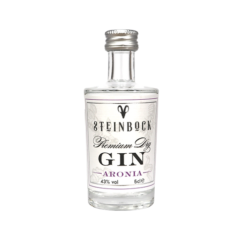 Steinbock Aronia - Premium Dry Gin - 5cl