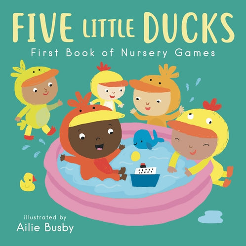 Five Little Ducks - First Book of Nursery Games : 3