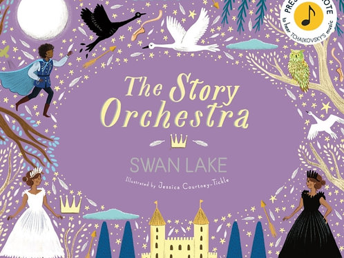 The Story Orchestra: Swan Lake : Press the note to hear Tchaikovsky's music