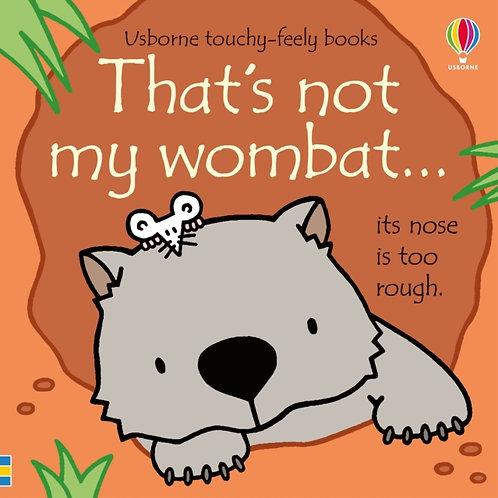 That's not my wombat...