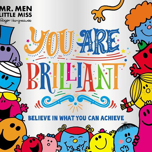 Mr. Men Little Miss: You are Brilliant : Believe in What You Can Achieve