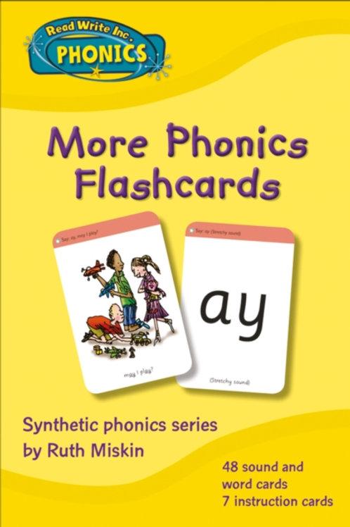 Read Write Inc. Phonics: More Phonics Flashcards