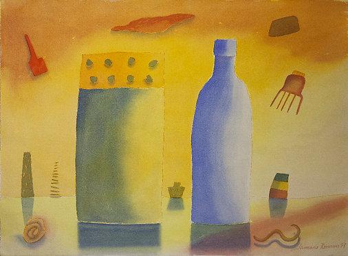 Morandi na cidade amarela   | FINE ART