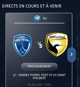 VIDÉO : suivez le match en direct face au poiré grâce a FuchsSports!