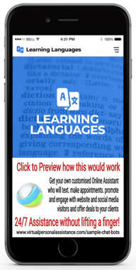 Learning-Languages-chatbot-sample