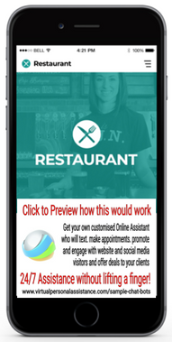 Restaurant-chatbots-sample