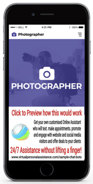 Photographer-chatbot-sample