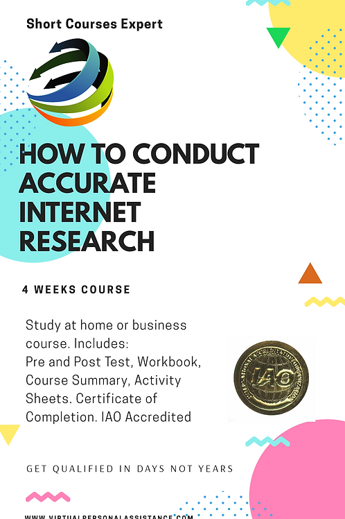 How to conduct accurate internet research