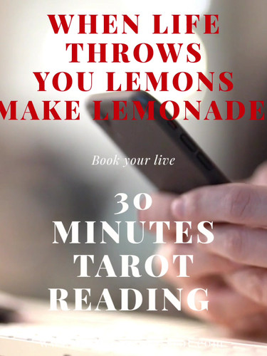 book your live tarot reading today via w
