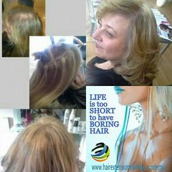 hair loss at crown of hair hair extension technique
