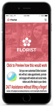 Florist-chatbot-sample