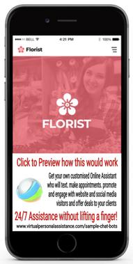 Florist-chatbot-sample