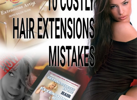 10 Costly Hair Extensions Mistakes