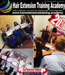 students graduation Hair Extensions Training Academy