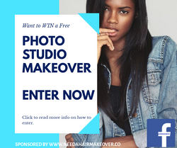 Enter free Photographic makeover competi