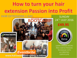 how to turn your hair extension passion into profit flyer diane shawe