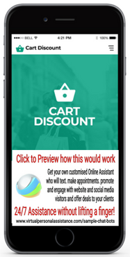 Cart-Discount Sample Chatbot