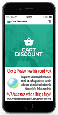 Cart-Discount Sample Chatbot
