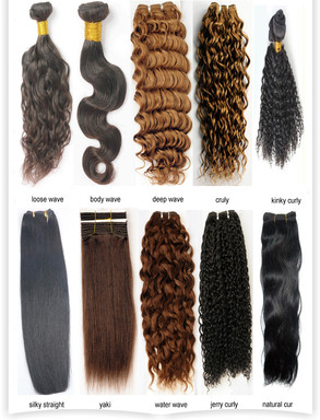 different hair extensions