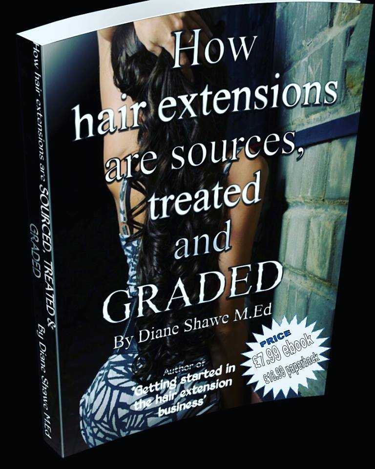 how hair extensions are sourced treated and graded by diane shawe