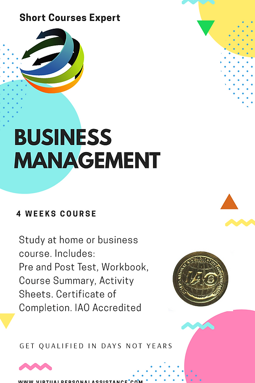 Business Management - Boot Camp for Business Owners