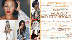 All about hair extensions today 1